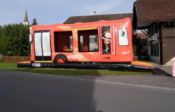 BusZug Hindernisbahn