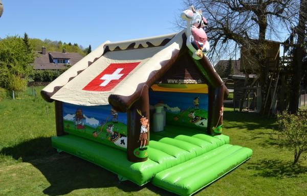 Hüpfburg Swiss Chalet