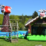 Swiss Chalet und Swiss Kletterturm mieten