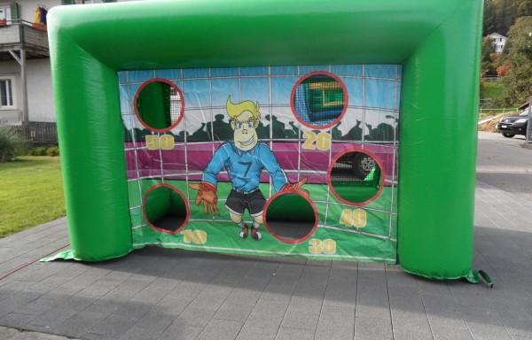 Fussball-Torwand