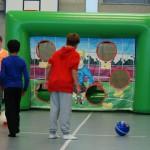 Fussballtorwand Eventspiel miete