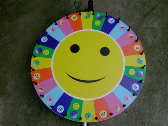 Glücksrad Regenbogen Vermietung