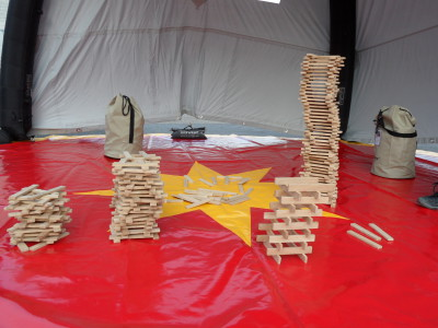neu: Holzturm bauen
