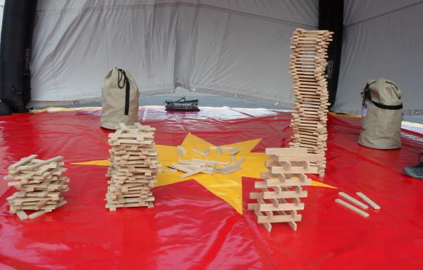 Holzturm bauen