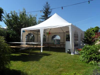 Pavillon-Zelt 5×5