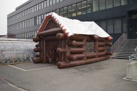 Après-Ski-Hütte (Winterzelt)