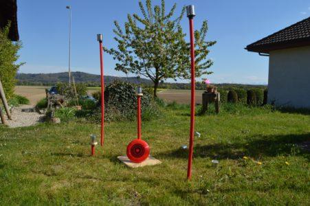 Frisbee-Werfen