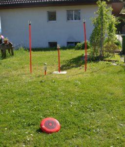 neu: Frisbee-Werfen