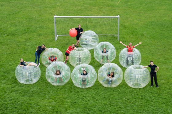 bubble soccer rent switzerland