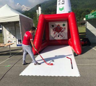 Eishockey-Torwand