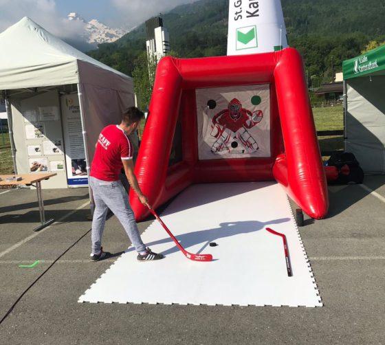 Eishockey speedtest eishockey-torwand