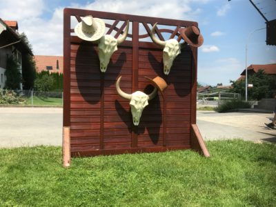 neu: Cowboyhut-Werfen