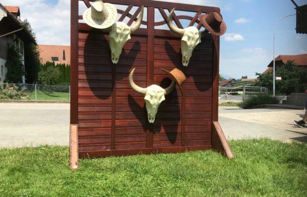 Cowboyhut-Werfen