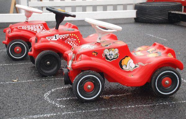 Bobby Car Rennen