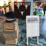 Hutwerfen Cowboy Westernspiel