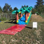 Wasserrutsche Palme Miete Eventspiele