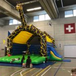 Riesen Giraffe Hüpfburg mieten Schweiz