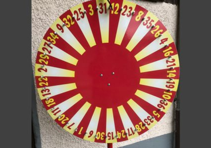 Glücksrad Sonne