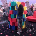 Turm bauen Spiel mieten Bauklötze