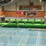 Menschenkicker grün Vermietung Schweiz Eventspiel