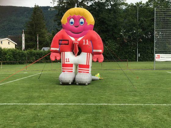 Fussballspiel Torwart Vermietung
