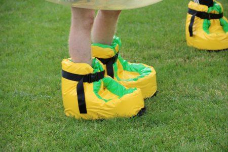 Riesen-Schuhe