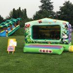 Hüpfburg Ballpool Jungle mieten eventattraktion Kinder