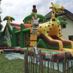 Safari Hindernisbahn mieten Eventspiel