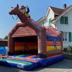 Hüpfburg Pferd schweiz Vermietung