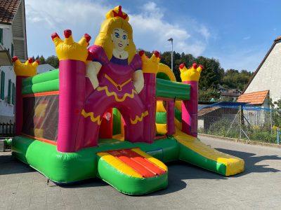 Hüpfburg Prinzessin