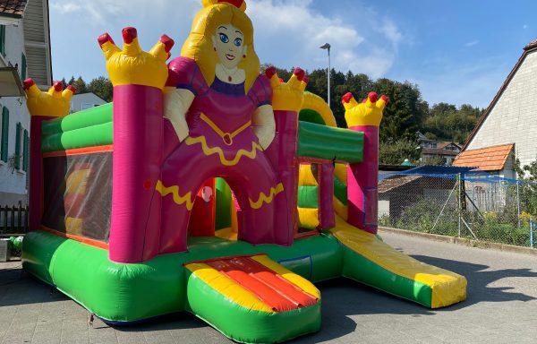 neu: Hüpfburg Prinzessin