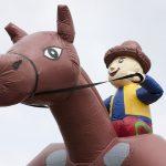 horse bouncer cowboy switzerland rental Pferd