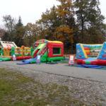 Hüpfburgpark Miete einen Funpark