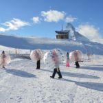 Bubble Soccer mieten Zermatt